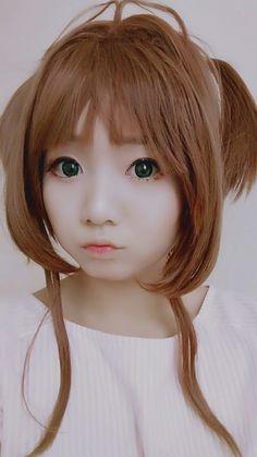 Kinomoto sakura makeup test by HazelBoaMiki