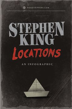The real-life locations of Stephen King novels.
