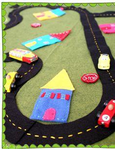 Inspired Ideas, The Christmas Issue Felt Playmat Magazine celebrating the crafty life