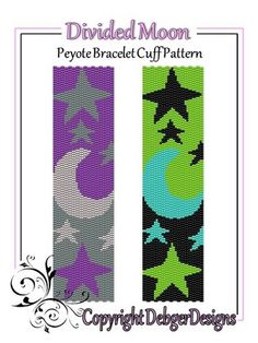 Divided+Moon+-+Beaded+Peyote+Bracelet+Cuff+Pattern