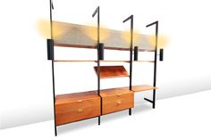 RARE STUNNING GEORGE NELSON CSS WALL UNIT at www.loftthirteen.com