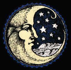 34 New Ideas Tattoo Moon Stars Moonlight La Luna Stars And Moon, You Are My Moon, Tattoo Mond, Moon Face, Moon With Face, Moon Magic, Beautiful Moon, Moon Child, Sacred Geometry
