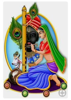 ADSYou can find Hindu art and more on our website. Lord Krishna Images, Radha Krishna Pictures, Radha Krishna Photo, Krishna Art, Radhe Krishna, Shree Krishna, Krishna Drawing, Krishna Painting, Lord Krishna Wallpapers
