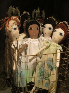 Let Me Grow Collection dolls hand made by Severina Kids + Rigoberta del Tesouro for STU