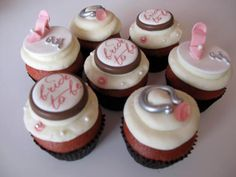 ... Engagement Cupcakes, Engagement Cakes and Engagement Party Cupcakes