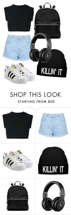 """Untitled #45"" by sophiamarie28 on Polyvore featuring adidas Originals, Topshop and Elizabeth and James"