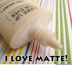 Make Up For Ever Mat Velvet. Best foundation for oily skin.