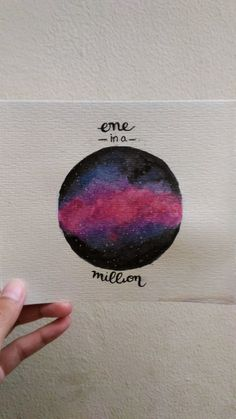 Galaxy Watercolor  One in a million  Inspired by: One in a million - TWICE  15/10/2017