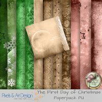 The First Day of Christmas by Angelique's Scraps Extra Papers 11 extra papers part belonging to the collection The First Day of Christmas There is a lot more that belongs to the collection. It is also for sale in one pack.  Size: 3600x3600 300dpi  Format:Jpeg