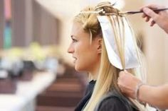 How to Do Hair Highlights With Foils | eHow