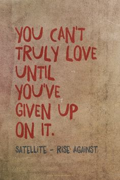 rise against satellite you cant truly love - Google-søgning
