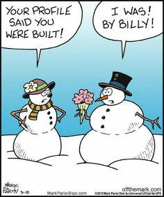 41 Ideas Holiday Humor Hilarious People For 2019 Christmas Jokes, Christmas Cartoons, Christmas Fun, Funny Cartoons, Funny Comics, Funny Memes, Snowman Jokes, Funny Snowman, Winter Jokes