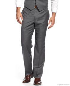 2016 New Custom Made Men Suits Dark Grey Tuxedos for Wedding Best Men Slim Fit Three Pieces Groom Groomsmen Tuxedos Jacket Pants Waistcoat