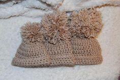 Basic Baby Hat in 3 sizes free crochet patterns