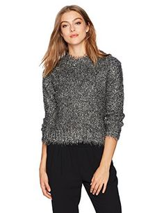 "Product review for Milly Women's Italian Metallic Fringe Sweater.  Gunmetal Italian metallic fringe long sleeve sweater   	 		 			 				 					Famous Words of Inspiration...""He loves but little who can say and count in words how much he loves.""					 				 				 					Dante Alighieri 						— Click here for more from Dante..."