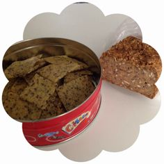 Carina's: Knækbrød uden hvedemel