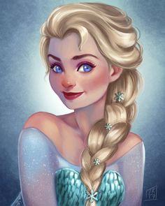 Elsa by LornaKelleherArt on DeviantArt Frozen Art, Elsa Frozen, Disney Frozen, Frozen Stuff, Frozen Drawings, Disney Drawings, Disney Dream, Disney Love, Walt Disney