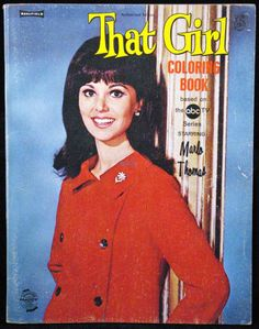 That Girl (1966-71, ABC) starring Marlo Thomas — 1969 Coloring Book