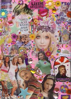 90s collage