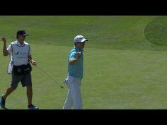 Martin Laird crushes his approach leading to eagle at Barracuda [ ArtOfGolf.com ] #PGA #art #golf