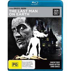 The Last Man on Earth - Blu-Ray (Shock Region B) Release Date: September 2, 2015 (JB Hi-Fi Australia)
