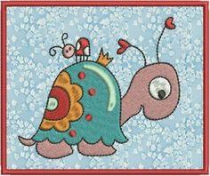 Spende süsse Schildkröte gezeichnet von Gaby Siewe von lollikids auf DaWanda.com