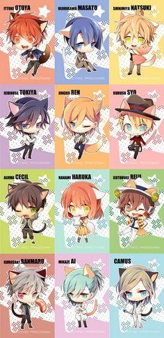 Uta no ★ prince sama (Cats ♡♥♡)