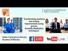 Health मित्र Scientific Mediation Channel LIVE! HOST: Kirti Ramdasi! Topic: How to increase memory power? Discussion by Jyotindra Zaveri. You can watch free from anywhere on any device. You may ask a question in Comment. You do NOT need a video to be ON. Please share/invite #memorypower #memoryenhancement #iq #eq #emotions #health #yoga #personalitydevelopment #jyotindrazaveri #mind Achieving Goals, Achieve Your Goals, Increase Memory, Meditation Techniques, Anger Management, Health Yoga, Channel, Success, Memories