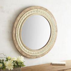 "Renzo 36"" Round Mirror | Pier 1 Imports"