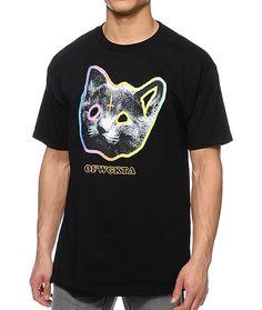 Odd Future OFWGKTA Tron Cat black