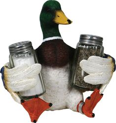 Salt & Pepper Shaker Set - Duck