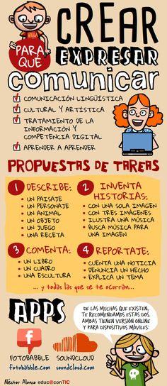 Infografía con propuestas de tareas. #infografía #propuestastareas