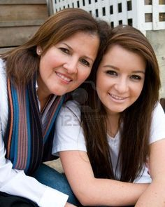 Mother and daughter enjoy their time together Stock Photo