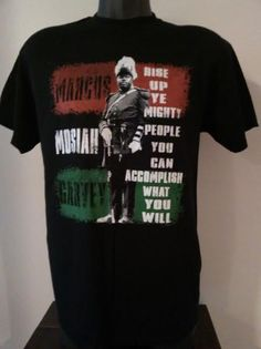 MARCUS GARVEY T-SHIRT by ARTISTICTEES3 on Etsy