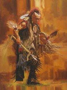 Native American - Artist Robert Tanenbaum