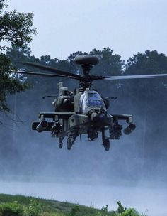 "˚AH-64 ""Apache"" helicopter during the 2nd Iraq war"
