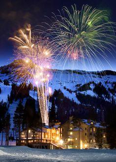Kirkwood Mountain Resort,  south of Lake Tahoe California