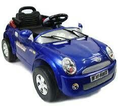 Mini Cooper-Style Electric Ride On Car for Kids with R/C Remote Controller Mercedes Sls, Ford Ranger, Audi R8, Baby Toys, Kids Toys, Kids Power Wheels, Volkswagen, Monster Trucks, Toddler Age
