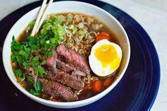 Ali à la mode: Beef Ramen Noodle Soup(dairy free)