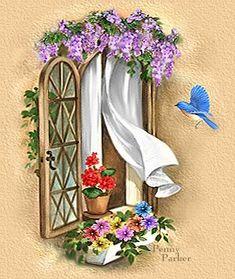 Open Window ~ Penny Parker