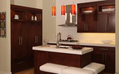 Shaker Brandy Kitchen-Cabinetry Sold at Innovations