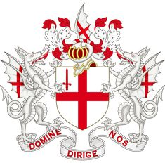 Coat of Arms of The City of London / City of London Corporation