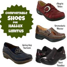 Big Toe Pain got you down? Five comfy shoes for Hallux Limitus.