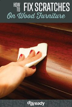 How to Fix Scratches On Wood Furniture   Home Improvement Ideas by DIY Ready at http://diyready.com/how-to-fix-scratches-on-wood-furniture/