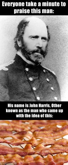 "Also know as John ""the most amazing man in the world"" Harris!"