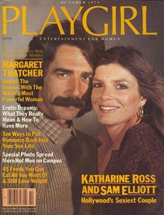 Playgirl magazine, Oct. 1979 — Katharine Ross & Sam Elliott