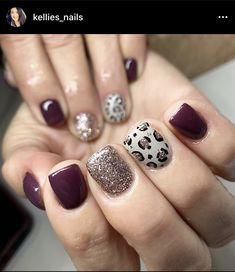 Classy Nails, Fancy Nails, Stylish Nails, Trendy Nails, Diy Nails, Cheetah Nail Designs, Cheetah Nails, Chic Nail Designs, Dipped Nails