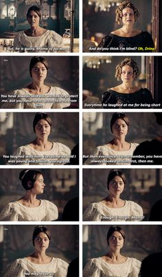 """""""Everytime he laughed at me for being short, you laughed with him. Everytime he told I was young and foolish, you agreed. But then, ever since I can remember, you have always looked at him first, then me. Enough, Mama!"""" - #Victoria and the Duchess of Kent"""