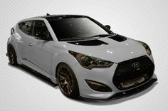 2012-2016 Hyundai Veloster Turbo Carbon Creations GT Racing Body Kit - 5 Piece