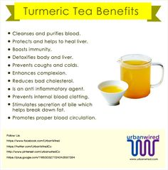 Turmeric (Haldi) and Indian cuisine are synonymous. So, it is difficult to imagine an Indian kitchen that is bereft of it. Here are Turmeric Tea Benefits!
